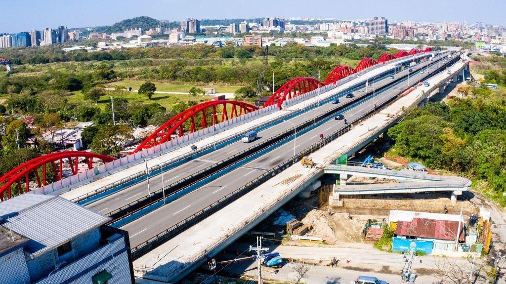 三鶯大橋二期工程預計在2023年完工。圖/新北市新工處提供