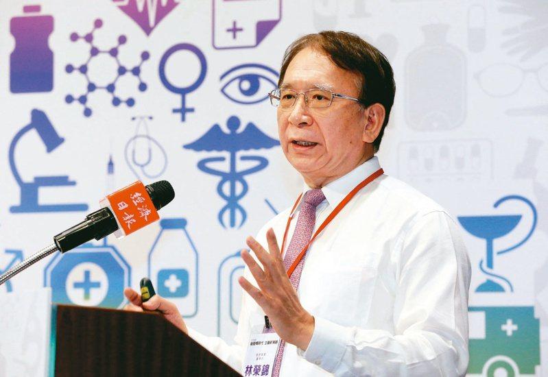 晟德集團董事長林榮錦表示,晟德未來目標是,打造生技產業界的「波克夏」。記者林俊良/攝影