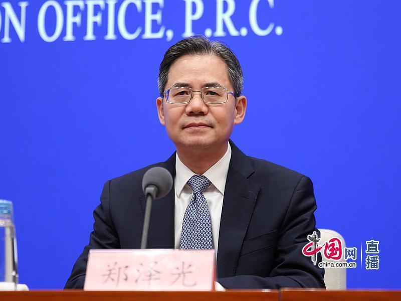 大陸外交部副部長鄭澤光。圖/取自中國網