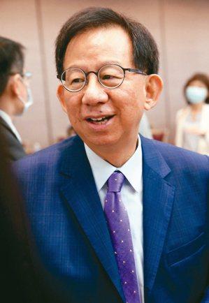 高端疫苗總經理陳燦堅 記者林俊良/攝影