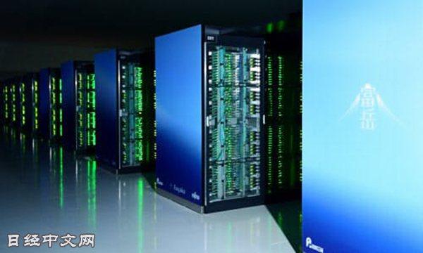 日本超級計算機「富岳」(6月16日,神戶市中央區)