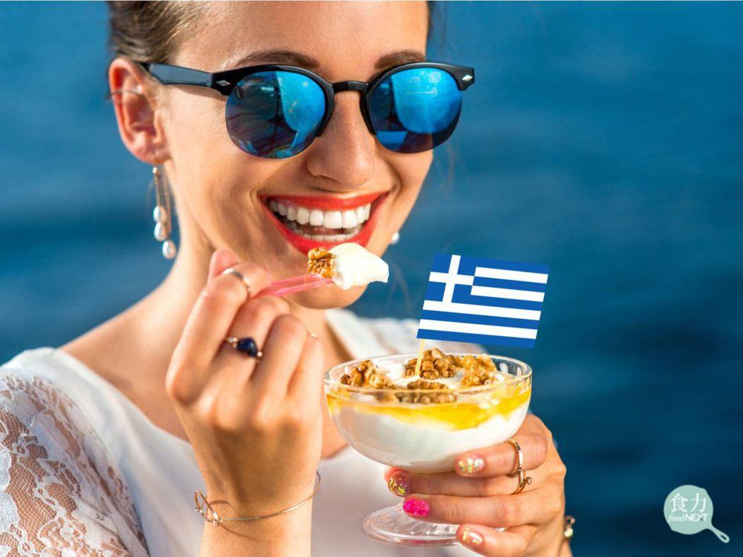 希臘優格的質地濃厚,吃起來口感綿密。 圖片提供/食力