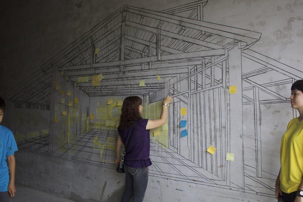 陳冠華率元智大學團隊改造池上榖倉藝術館。圖/台灣好基金會提供