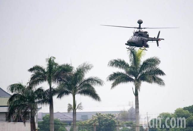 陸軍OH-58D直升機。聯合報系資料照