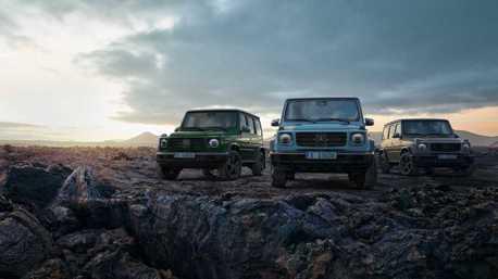 新年式Mercedes-Benz G-Class動力再升級 追加三種新車色!