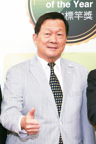 永信藥品董事長李芳裕 記者蘇健忠/攝影