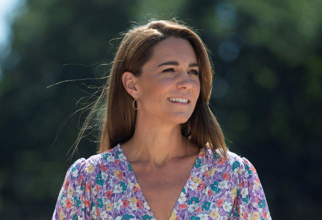 凱特的臉部在「黃金比例」評比上落居妯娌間的下風。圖/路透資料照片