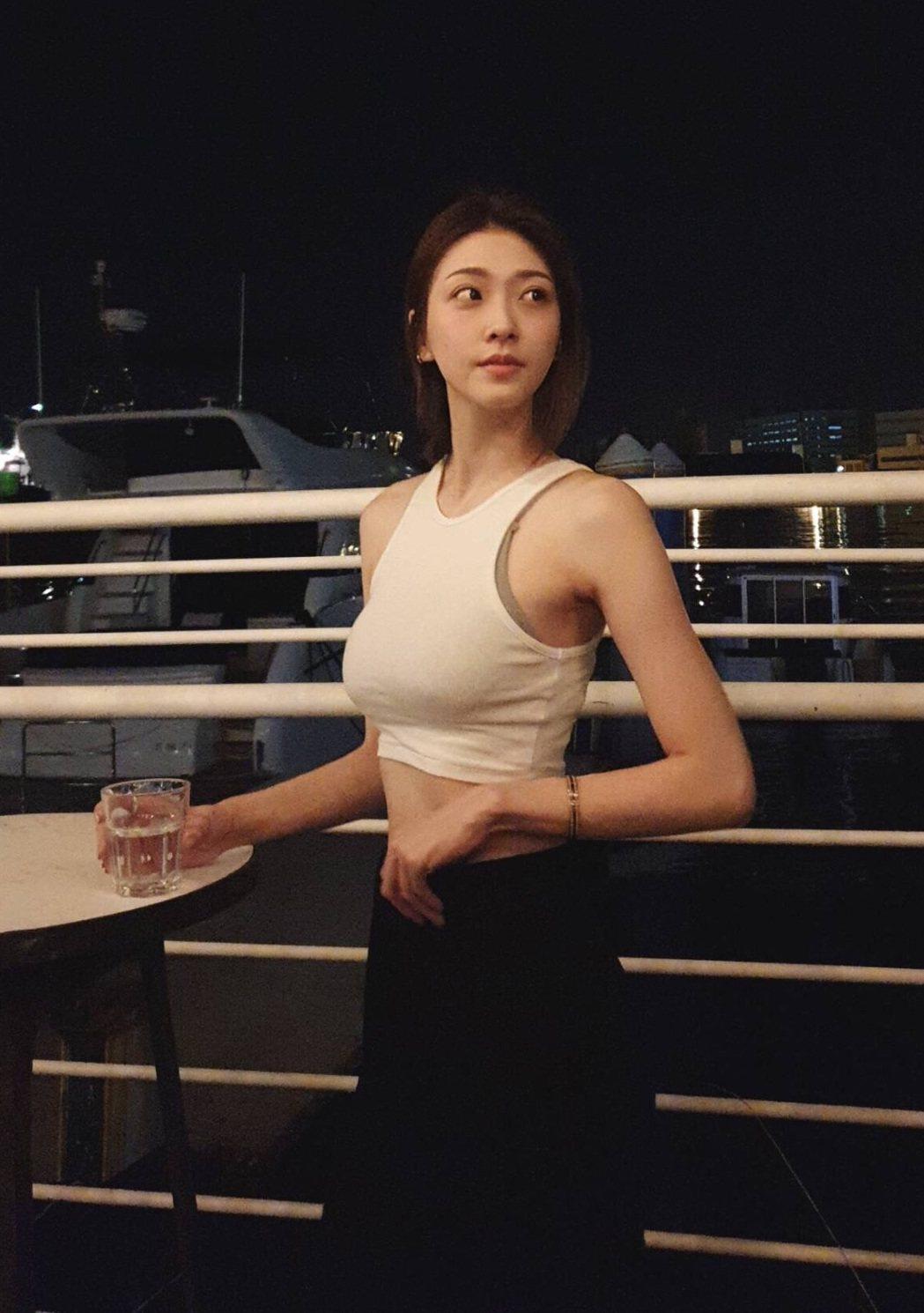 胡祖薇皮膚白皙、身材姣好。圖/風雅國際娛樂提供