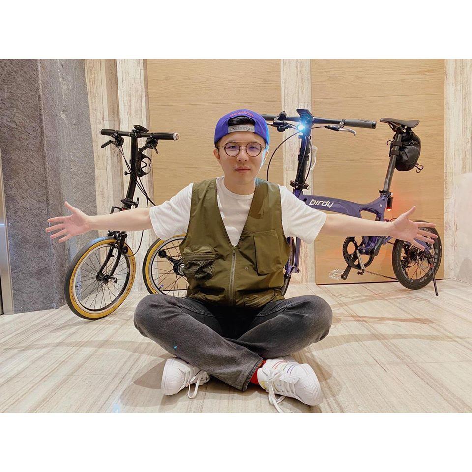 小宇表示要努力減重。圖/摘自臉書