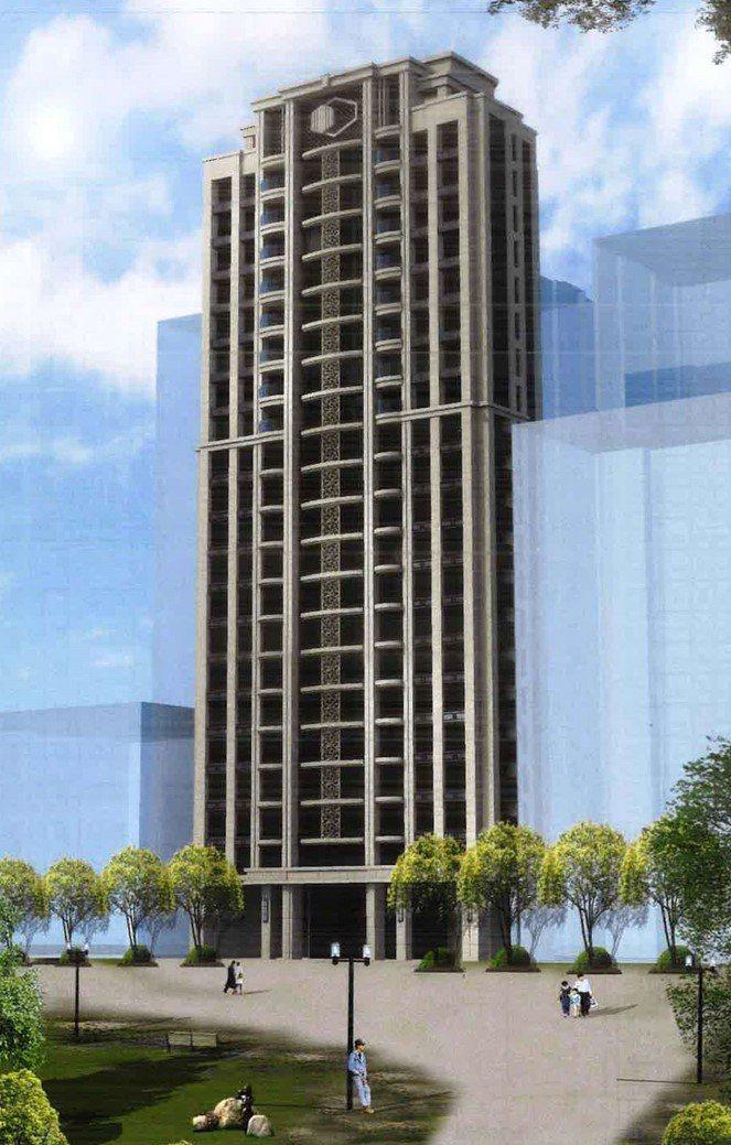 更新後預定興建地上21層、地下5層鋼筋混凝土造之集合住宅大樓,南側臨民樂路留設4...