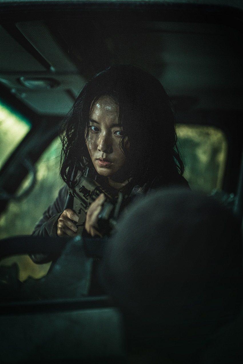 「屍速列車2」全台首日票房超越前作,首日近2400萬登票房冠軍。圖/車庫娛樂提供