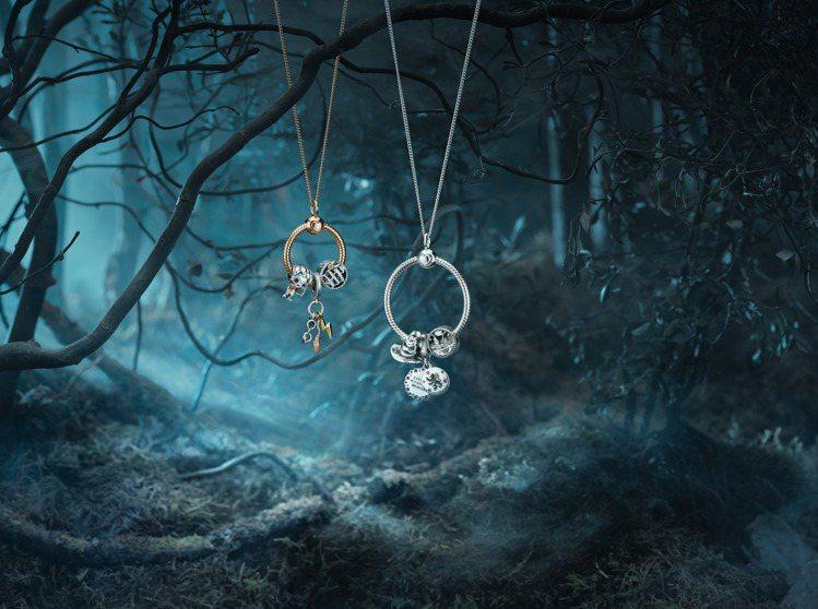 Pandora再度與哈利波特推聯名吊飾,更多魔法故事化為每個人都能配戴的回憶。圖...