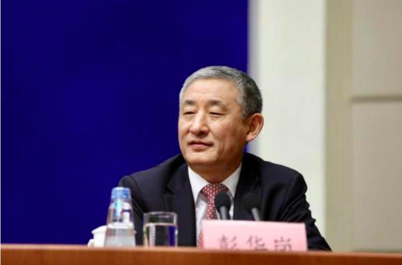 中共國資委新聞發言人彭華崗。(中證網)