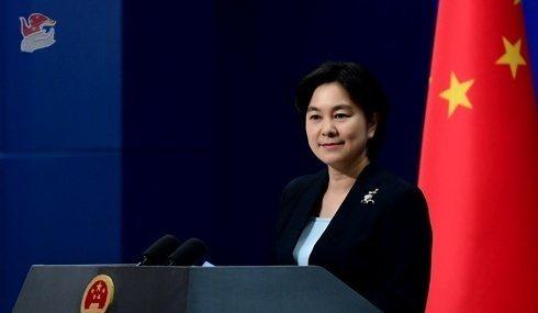 大陸外交部發言人華春瑩。圖/取自人民日報