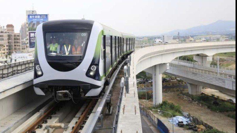 台中捷運綠線即將通車試營運。圖/台中市新聞局提供