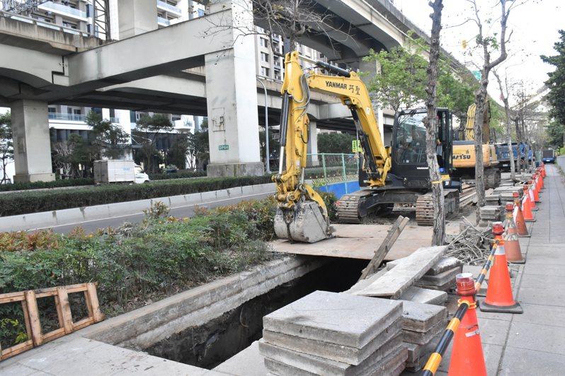 新北市汙水下水道使用費將隨水費徵收,每度5元。記者江婉儀/攝影