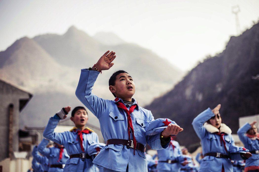 「為中華崛起而讀書!」 圖/法新社