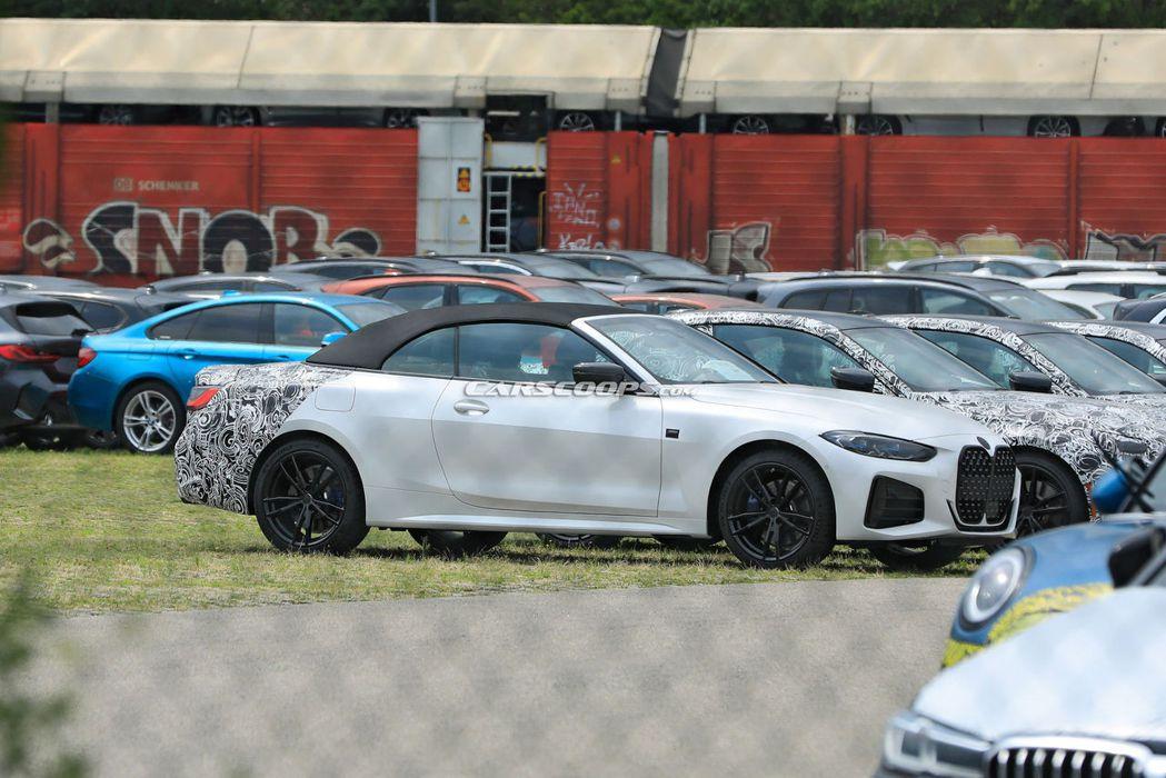 大改款BMW 4 Series Convertible改採軟頂設定。 摘自Car...