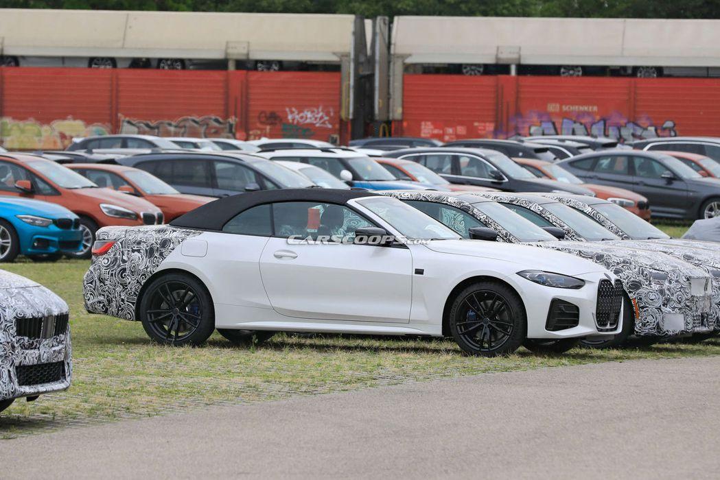 大改款BMW 4 Series Convertible也毫不意外的換上了「大鼻孔...