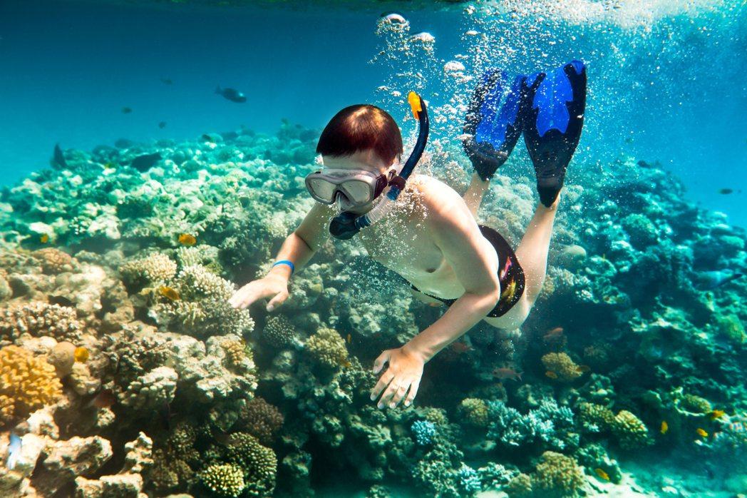 潛水。圖/ingimage