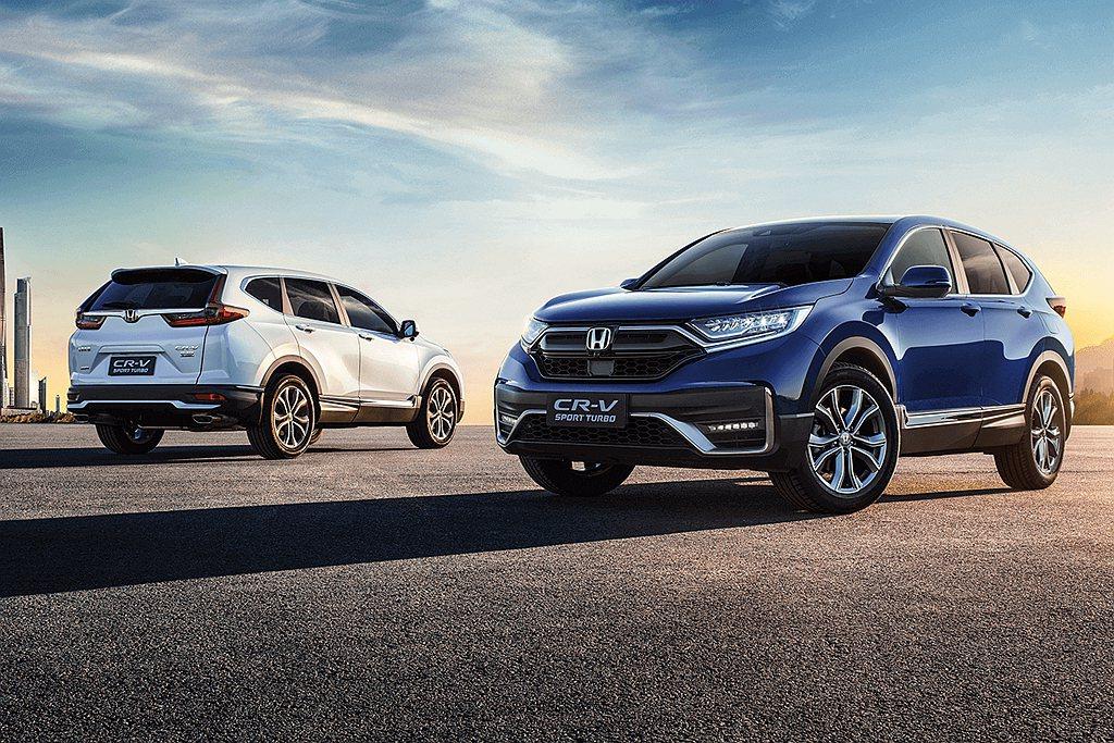 經過先前預告後,中國小改款Honda CR-V正式開始販售。 圖/Honda提供