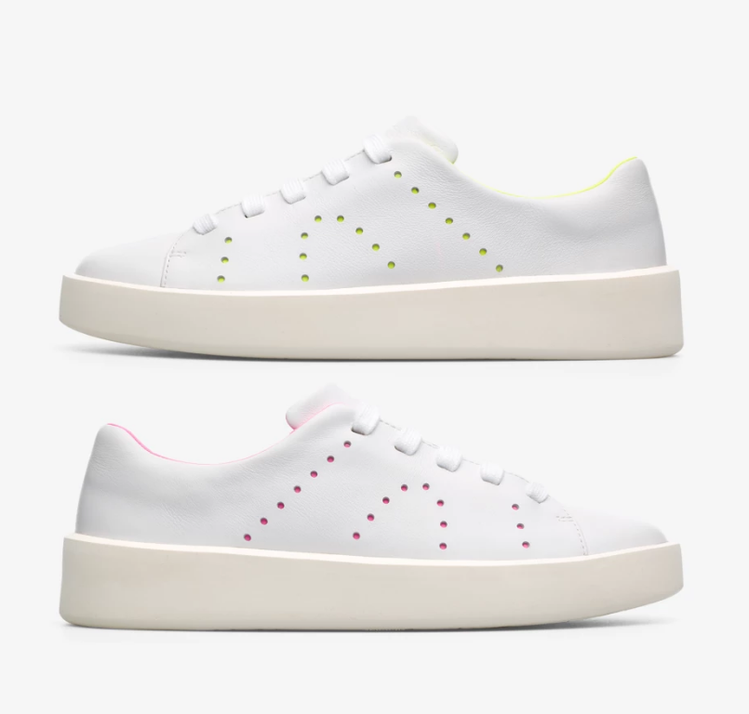 CAMPER TWINS系列白鞋/NT,980(女鞋) 圖/VOGUE提供