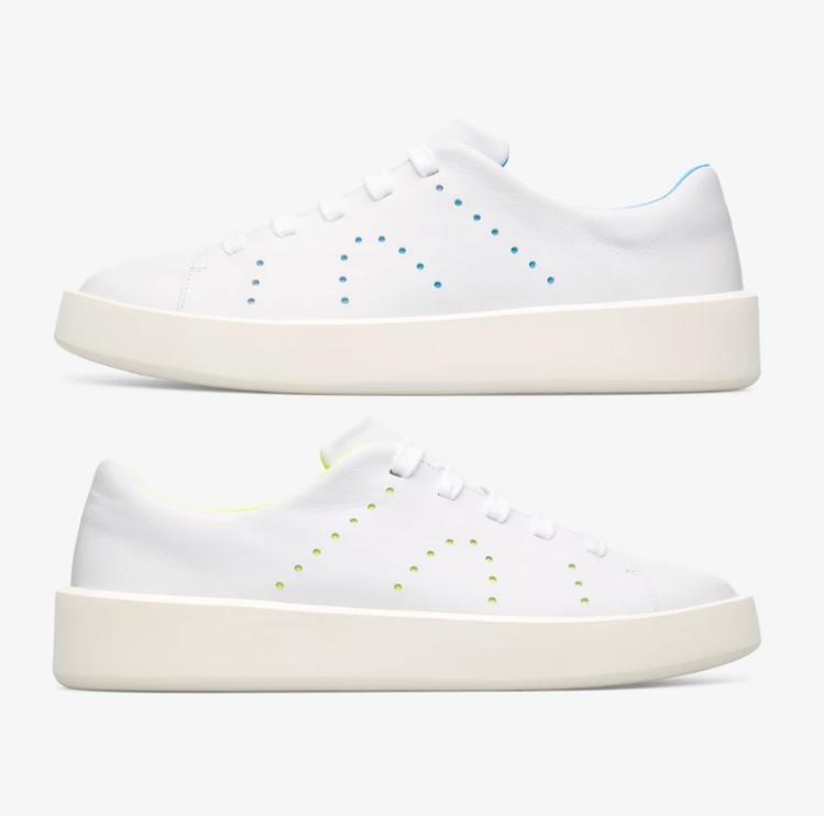 CAMPER TWINS系列白鞋/NT,980(男鞋) 圖/VOGUE提供