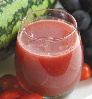 西瓜番茄汁。記者高智洋/攝影