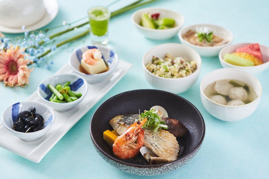 褐藻柚子胡椒鱸魚。