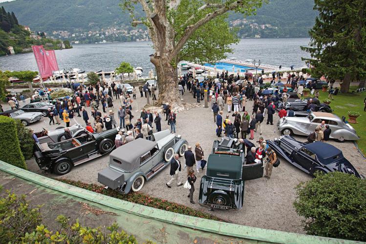 來自超過120台的美麗古董跑車,將在17個不同類別中角逐Concours Vir...