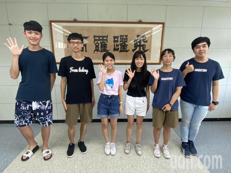國立羅東高中學生表現傑出。記者羅建旺/攝影