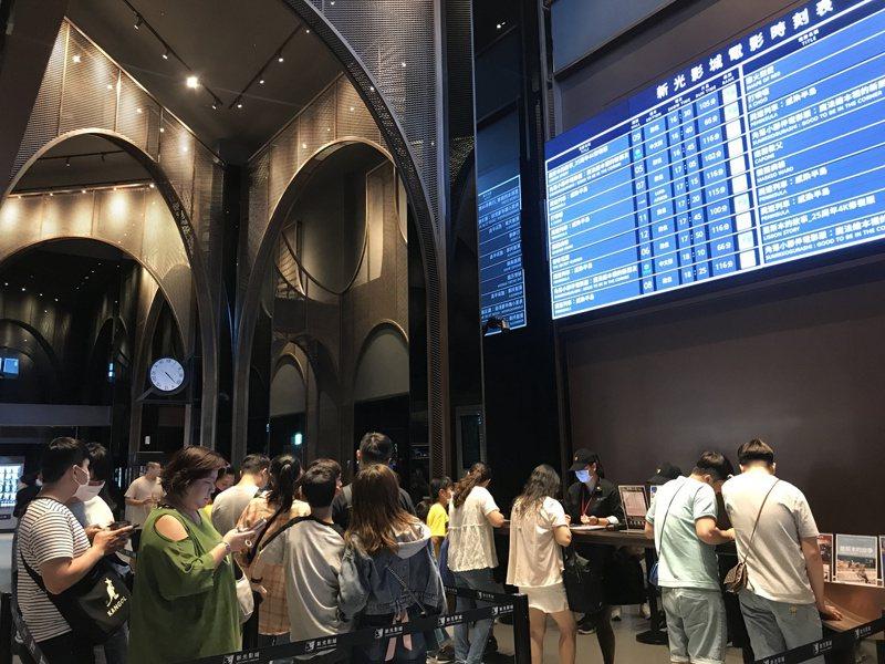 桃園新光影城試營運首日吸引超過7萬人進場。記者江佩君/攝影