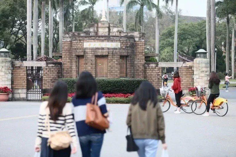 國內各大學採單招、外加名額方式招生台生轉學歸國,反應熱烈,圖為台灣大學。圖/聯合報系資料照片