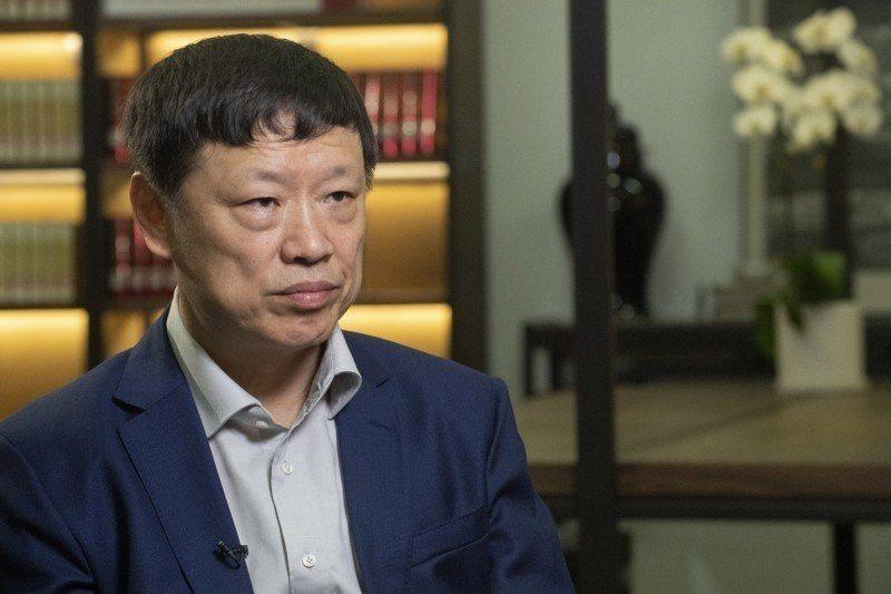 大陸環球時報總編輯胡錫進。圖/取自彭博資料照