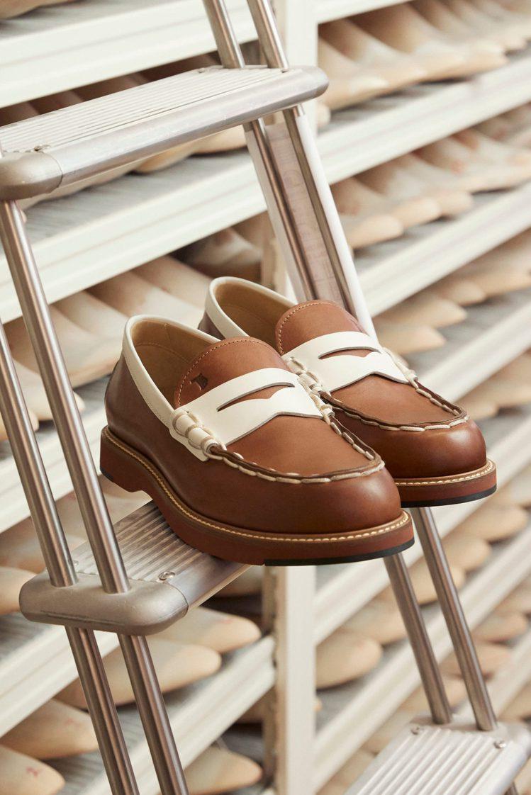 男士皮鞋展現風雅的優閒品味。圖/TOD'S提供