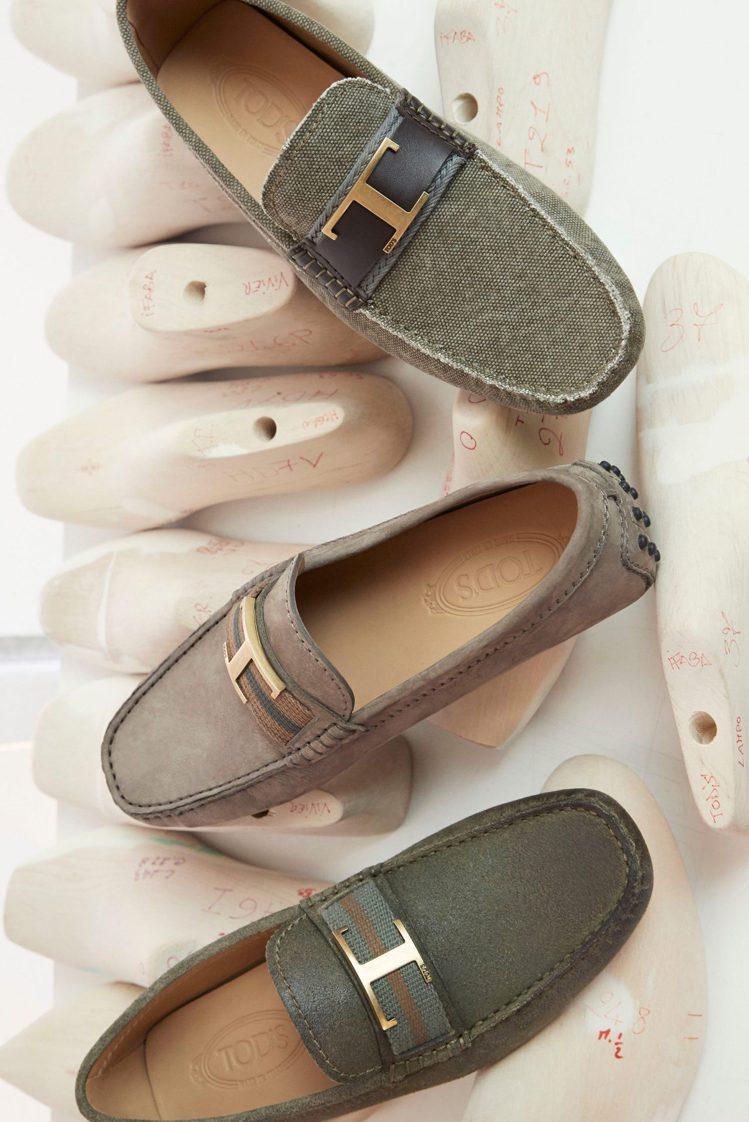 T Timeless經典標誌重現於各單品之上,包括手袋、平底鞋及高跟樂福鞋。圖/...
