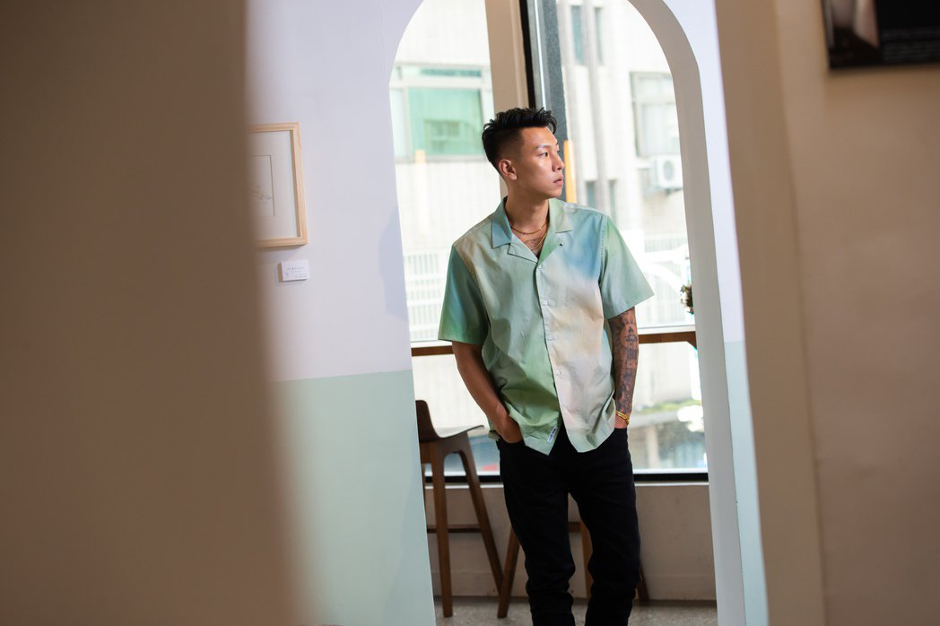 瘦子推出新專輯。記者季相儒/攝影