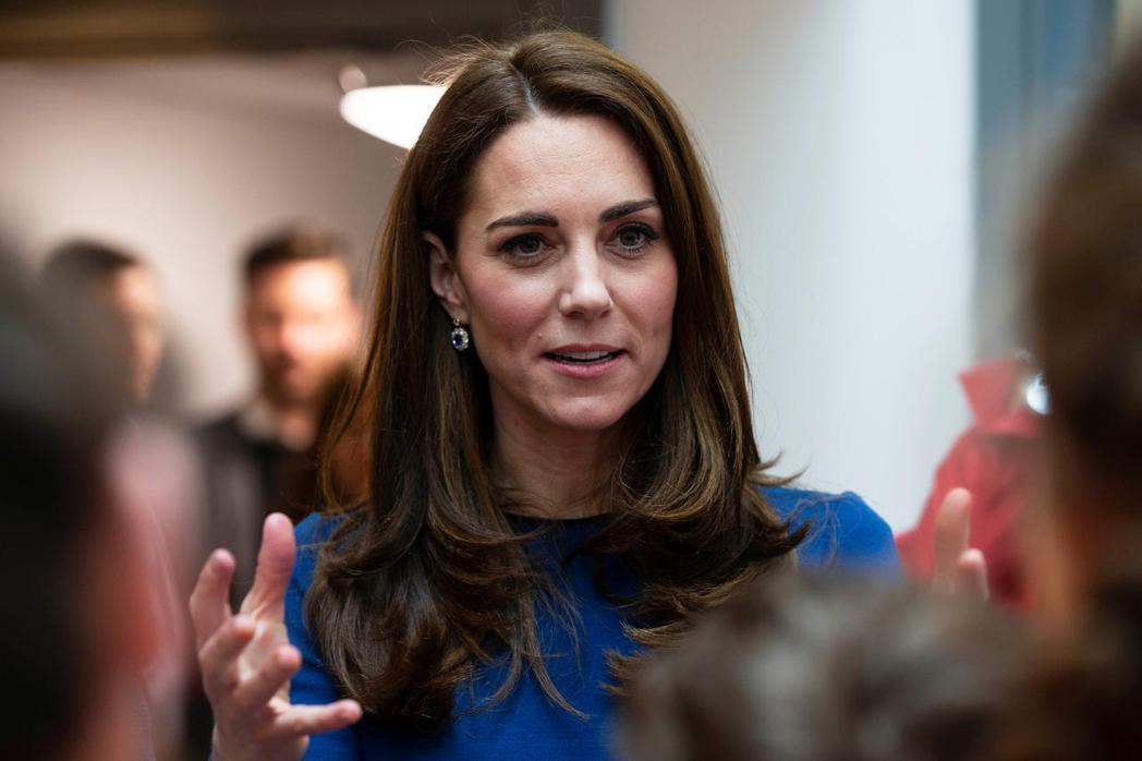 凱特永遠是英國民眾眼中的「皇室完美好媳婦」。圖/路透資料照片