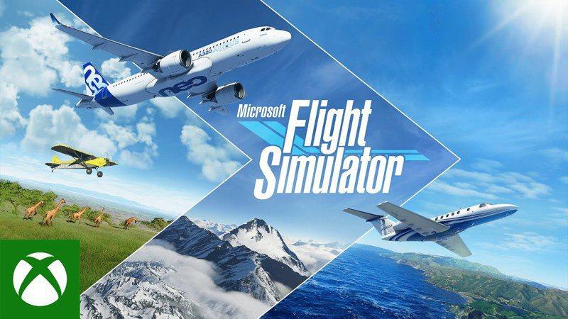 《微軟飛行模擬器》(Microsoft Flight Simulator) 圖擷自youtube