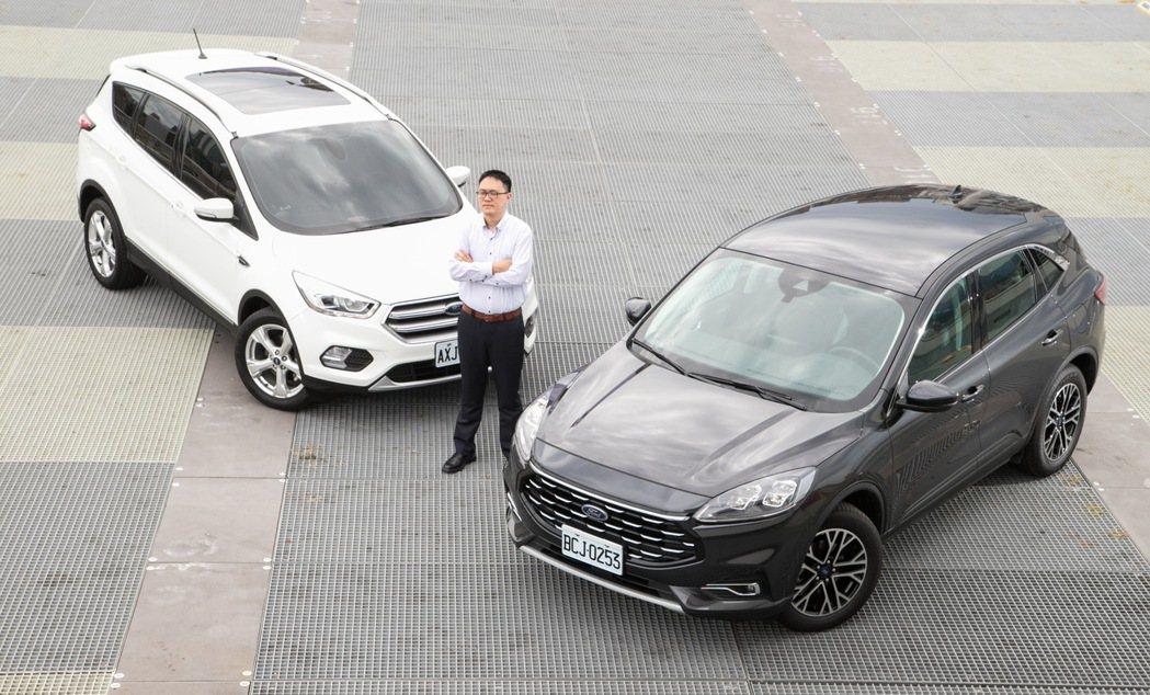 佳威過往就是福特忠實粉絲,上一台車是Ford Focus,現在則是以Kuga作為...