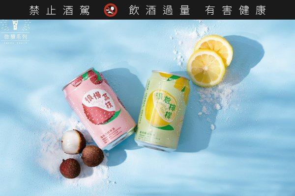 「很尬檸檬」X「很慢荔枝」  台啤今夏大玩特調