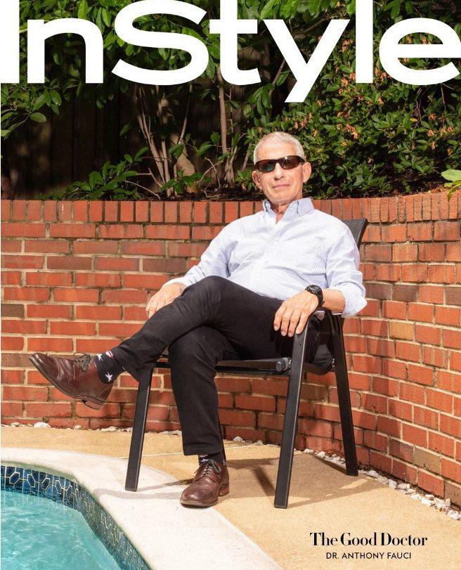 佛奇接受InStyle雜誌訪問,承認自己在白宮不受歡迎。圖/InStyle網站截圖