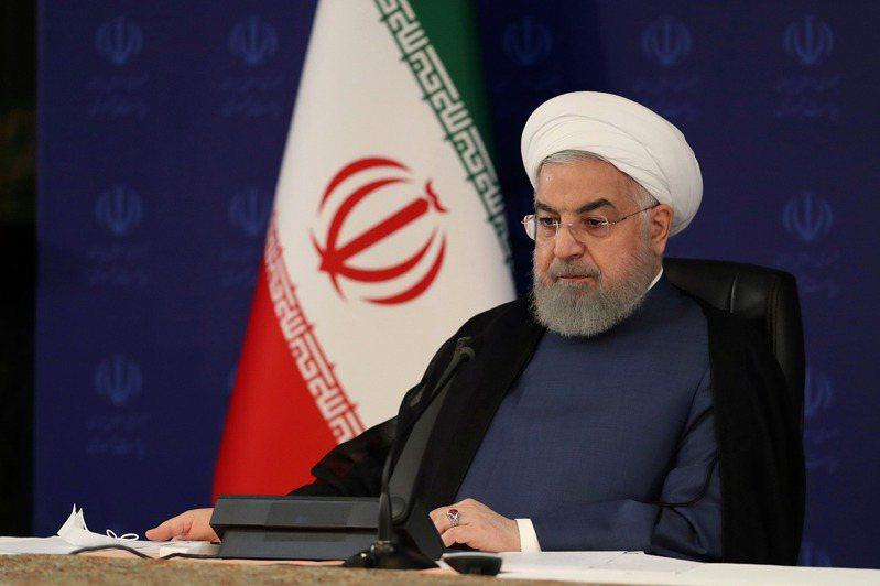 伊朗總統羅哈尼。 美聯社
