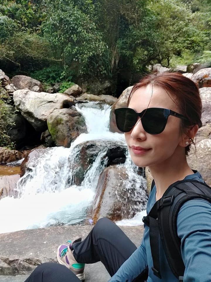 田馥甄特別分享登山美照祝粉絲搶票順利。圖/摘自臉書