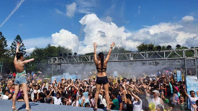 六福村夏日消暑全新企劃「冰霧派對」。圖/六福村提供