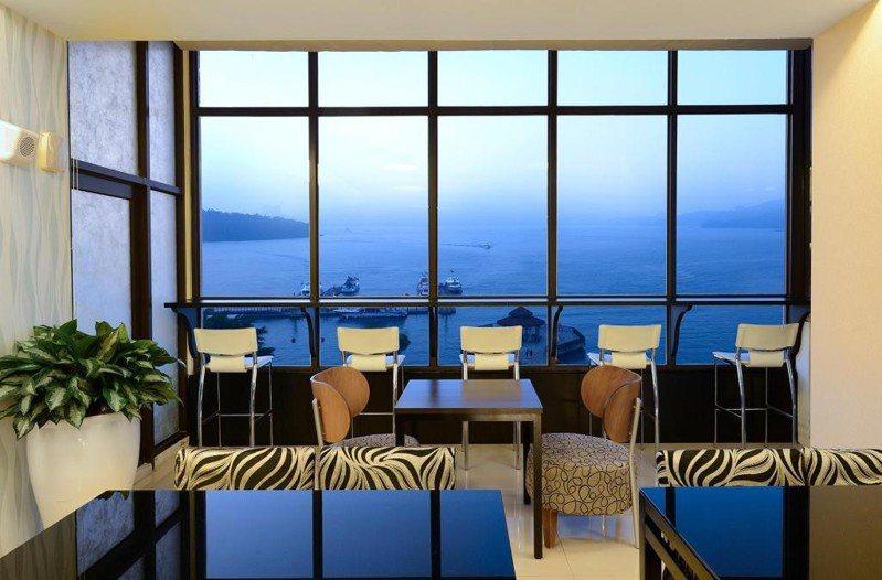 調查發現,四到五星高級飯店最熱門。圖為湖悅景觀飯店。圖/Agoda提供