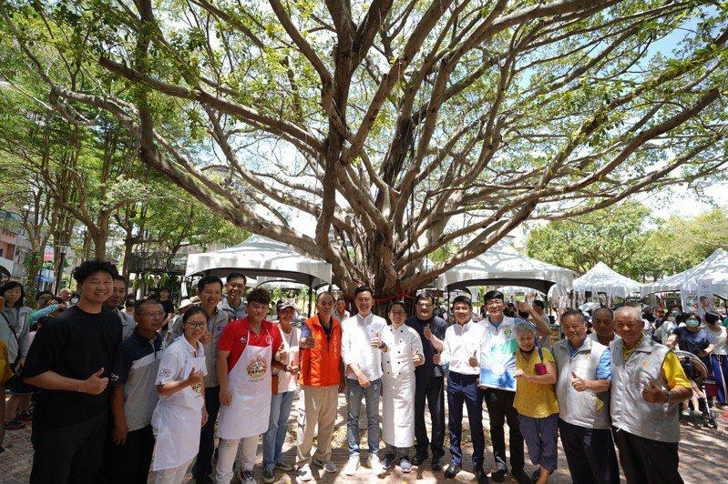 新竹市政府今明兩天在長和公園舉辦媽祖有保庇園遊會,歡迎大家使用三倍券消費。圖/市府提供