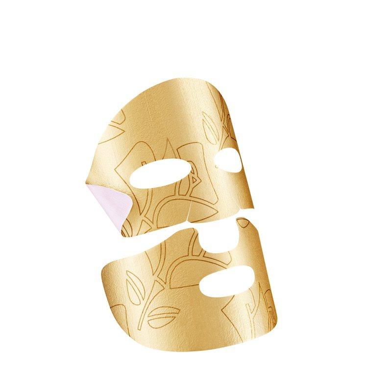 蘭蔻絕對完美24K黃金玫瑰霜面膜/一盒5片/6,500元。圖/蘭蔻提供