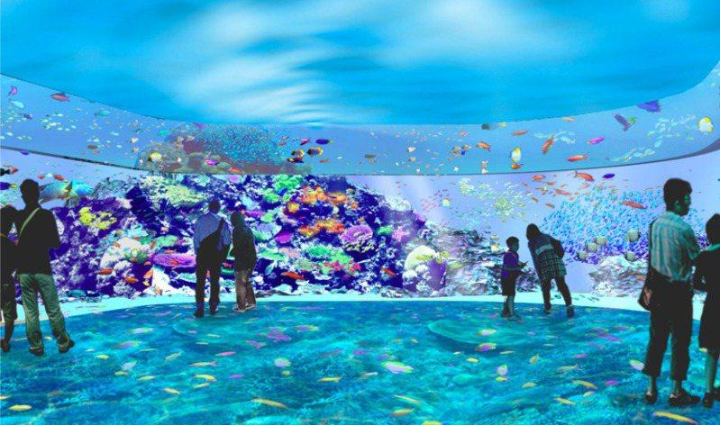 八景島水族館Xpark將於8月7日,在桃園開幕。 圖/摘自Xpark官網