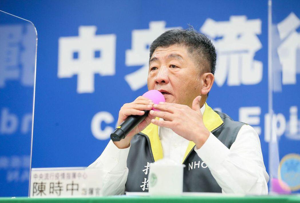 衛福部長陳時中5月接受聯合報專訪時,第一次拋出將調整健保費率。 (中央社)